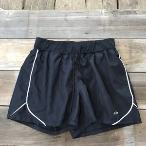 Champion running shorts. Built in underwear/pocket